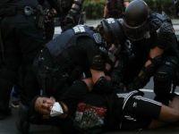 ABD'nin Başkenti Washington'da Yüzlerce Protestocuya Gözaltı