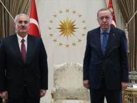 Erdoğan, Yargıtay Başkanı Mehmet Akarca'yı Kabul Etti