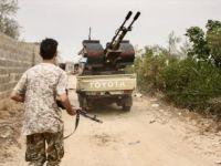Libya Ordusu ile Hafter Milisleri Arasında Şiddetli Çatışmalar Yaşanıyor