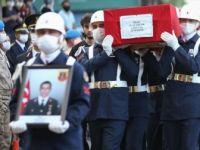 Siirt'te Şehit Olan Astsubay Çavuş Celal Özcan, Son Yolculuğuna Uğurlandı