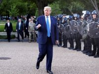 ABD Başkanı Trump'dan Beyaz Saray'daki Sığınağa gidişiyle ilgili Açıklama