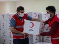 Türk Kızılay 'Yeni Normal'de Yardımlarıyla Yüz Güldürüyor