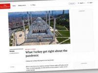 The Economist Dergisi Türkiye'nin Kovid-19'la Mücadelesini Övdü
