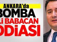 Ankara'da olay iddia : Deva Lideri Ali Babacan Parti mi değiştirecek ?