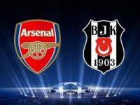İşte Beşiktaş - Arsenal maçının kanalı ve saati!