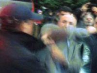 Zabıtalardan CHP'li vekile şiddet!