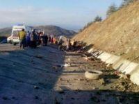 Isparta'da korkunç kaza: 15 ölü, 30 yaralı!
