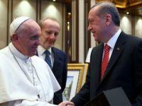 Erdoğan'dan Papa'ya bomba hediye!