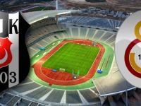 Beşiktaş-Galatasaray Derbisinde İlk 11'ler Belli Oldu