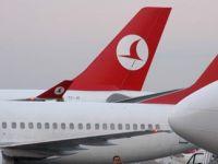 Türk Hava Yolları'nın 13 Uçağı Yağış Nedeniyle İnemedi