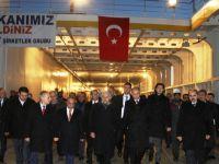 Bakanlar, Türkiye'nin en büyüğünü incelediler