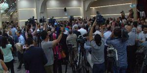 Meral Akşener'in bayramlaşma programında arbede çıktı!