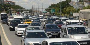 TEM trafiğini durduran kaza!