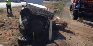 Yozgat'ta korkunç trafik kazası! 1 ölü 5 yaralı