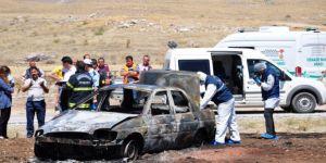 10 gün önce emekli olan polis kazada yanarak hayatını kaybetti