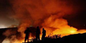 Bodrum dumanlar altında