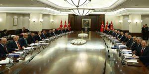 Başbakan Binali Yıldırım başkanlığında Bakanlar Kurulu toplantısı başladı