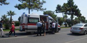 Fatsa'da zincirleme trafik kazası!