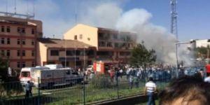 Elazığ Emniyet Müdürlüğü'ne bombalı saldırı! 3 şehit , 146 yaralı!