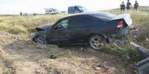 Afyonkarahisar'da korkutan trafik azası: 2 Yaralı