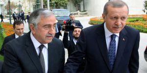 Cumhurbaşkanı Erdoğan, Mustafa Akıncı ile görüştü!
