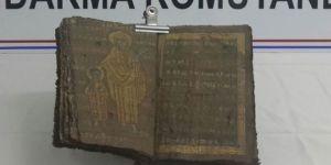 Aksaray'da el yazması tarihi İncil ele geçirildi!