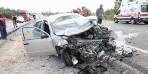 Yozgat'ta korkunç trafik kazası: 1 ölü, 4 yaralı
