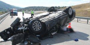 Kastamonu, Tosya'da trafik kazası: 1 ölü, 3 yaralı