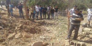 Mardin, Kızıltepe'de Teröristler Mezarlığa El Yapımı Patlayıcı Tuzakladı