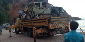 Bartın, Kurucaşile'de Denize Sürüklenen Araç 34 Gün Sonra Çıkarıldı!