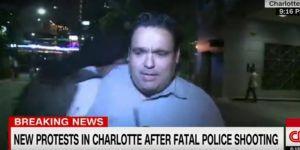 ABD'de CNN muhabirine canlı yayında saldıır