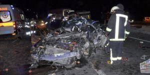 Akşehir'de kahreden kaza! Bir aile yok oldu