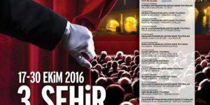 """Adana """"3. Şehir Tiyatroları Buluşması"""" 17 Ekim'de Başlıyor"""