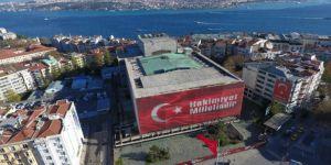 Atatürk Kültür Merkezi'nin son hali havadan görüntülendi