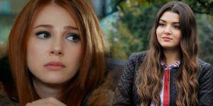Hande Erçel ile Elçin Sangu Reklam Filmi Yüzünden Karşı Karşıya Geldiler