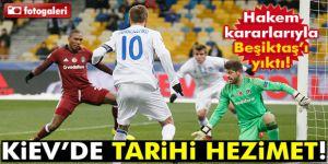 Dinamo Kiev 6-0 Beşiktaş! Dinamo Kiev-Beşiktaş maçı geniş özeti ve golleri