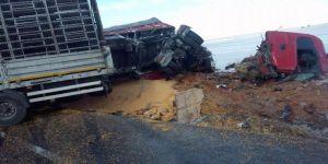 Konya-Afyonkarahisar Karayolunda İki Tır Çarpıştı: 1 Ölü, 1 Yaralı