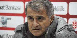 """Şenol Güneş : """"İkinci yarı daha iyi bir Beşiktaş olacak"""""""
