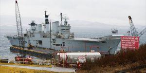 İngiliz uçak gemisi İzmir'de hurdaya dönüştürülecek