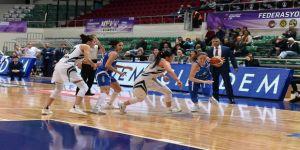 Bornova Becker Spor Federasyon Kupasına  57–65'lik Skorla Veda Etti