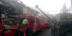 Demirciler Sitesi Zeytinburnu'nda Yangın