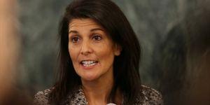 Trump'ın Bm Büyükelçisi Haley'den Rusya'ya' Kınama