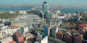 Taksim Camisi'nde ''Art Deco'' Stili