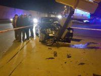 Ankara, Altındağ Hipodrom Caddesi'nde İki Otomobil Çarpıştı: 5 Yaralı