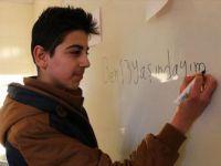 Suriyeli çocukların Türkçe aşkı