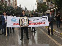 Fırat Yılmaz Çakıroğlu Balıkesir'de Yürüyüşle Anıldı