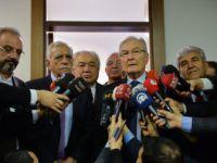 Deniz Baykal-Ahmet Türk Görüşmesi
