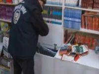 Kadıköy'de bandrolsüz kitap operasyonu