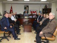 İzmirli Makedonyalılar'dan Turgay Şirin'e ziyaret