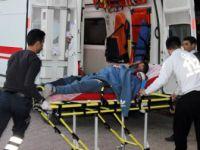 El Bab Bölgesinde Çatışmalarda Yaralanan 11 ÖSO Askeri Kilis'e Getirildi